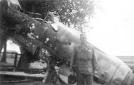 Asisbiz Messerschmitt Bf 109G12 abandoned airframe unknown unit Lt Borelli 1945 01