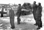 Asisbiz Messerschmitt Bf 109G14 Erla RVT WNr 785102 unknown unit Wertheim Germany Jan 1945 04