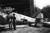 Asisbiz Messerschmitt Bf 109G14 Erla Reichsverteidigung Yellow 12 unknown unit and pilot 1945 01