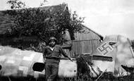 Asisbiz Messerschmitt Bf 109G14AS Erla RVT WNr 785194 abandoned airframe unknown unit Cpl Albright Deggendorf Bavaria 1945 01