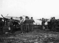 Asisbiz Messerschmitt Bf 109G14AS Erla Reichsverteidigung White 4 WNr 786316 unknown unit and pilot Feb 1945 06
