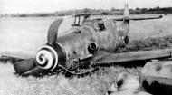 Asisbiz Messerschmitt Bf 109G6 10.JG76 Red 6 Heinrich Hartmann force landed Jul 1944 01