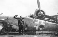 Asisbiz Messerschmitt Bf 109G6 Reichsverteidigung airframe unknown unit 01