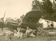 Asisbiz Messerschmitt Bf 109G10 Erla RHAF abandoned airframes with Russian troops 1945 01