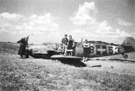 Asisbiz Messerschmitt Bf 109G6 RHAF 101 V8+53 belly landed Hungary 1944 01