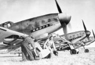 Asisbiz Messerschmitt Bf 109G6 RHAF 101.2 Black 5 Eastern front 1944 02