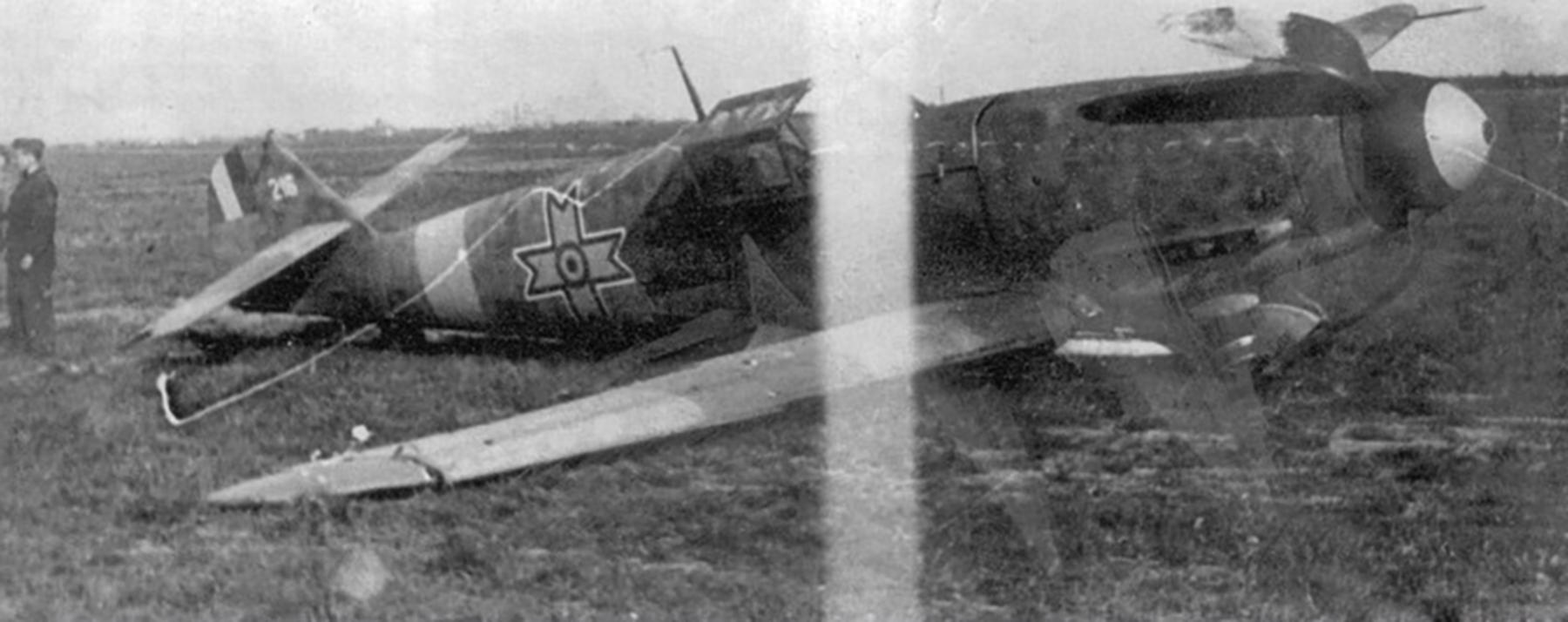 Messerschmitt Bf 109G2 RRAF 7FG White 216 Romania 1942 01