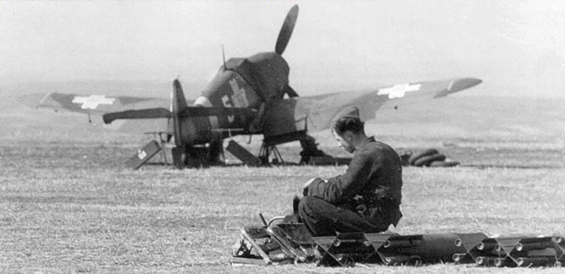 Messerschmitt Bf 109G2 RRAF 7FG Yellow 5 Rumanian AF Dnepropetrovsk Southern Russia April 1943 01