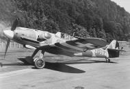 Asisbiz Messerschmitt Bf 109G6 SAF Flieger Reg 2 FlSt7 J 704 Stkz RQ+BI WNr 163245 Switzerland 10th Sep 1944 01