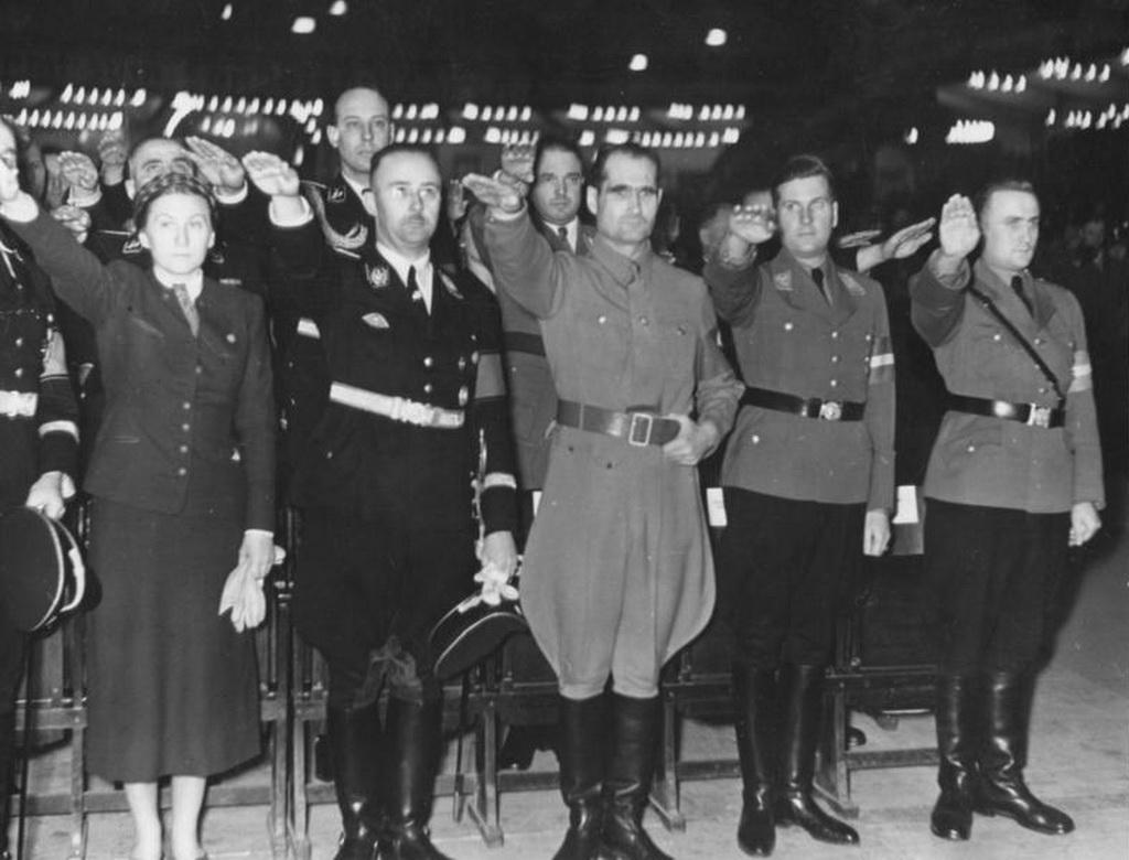 rudolf hess nazism