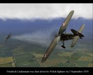 Asisbiz Aircrew Luftwaffe pilot Friedrich Lindemann was shot down by Polish fighters on 3rd Sep 1939 01