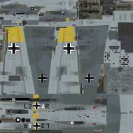 Asisbiz BOS asisbiz Bf 110E 7.(F)LG2 L2+AR Mariupol Ukraine 1942