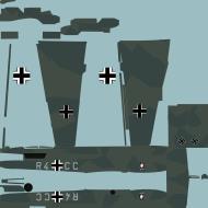 Asisbiz COD asisbiz Bf 110C Stab II.NJG2 R4+CC camouflage