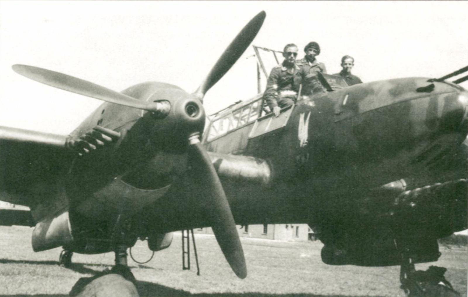 Aircrew Luftwaffe pilot NJG6 Gunther Bahr Flugzeug Clasic Special 06 P85