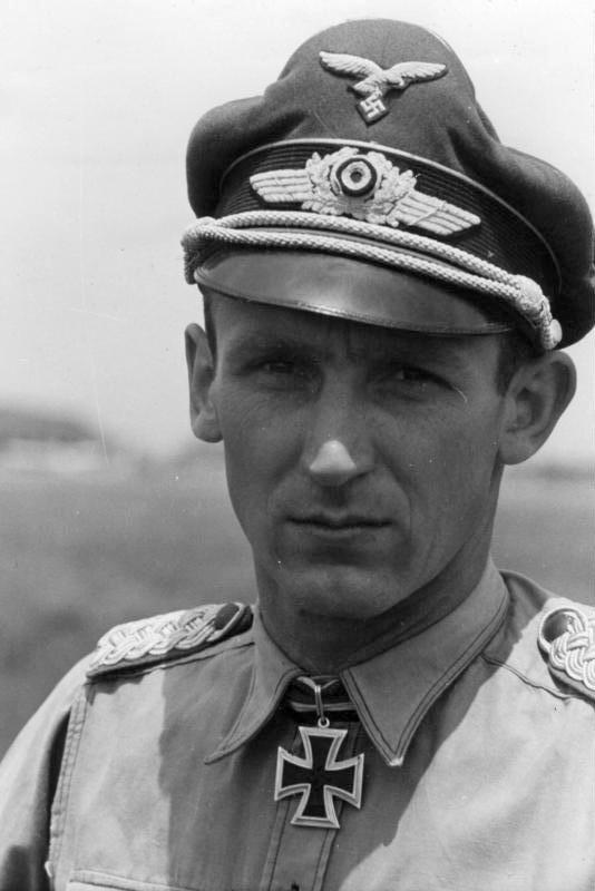 Aircrew Luftwaffe pilot NJG6 Herbert Lutje 01