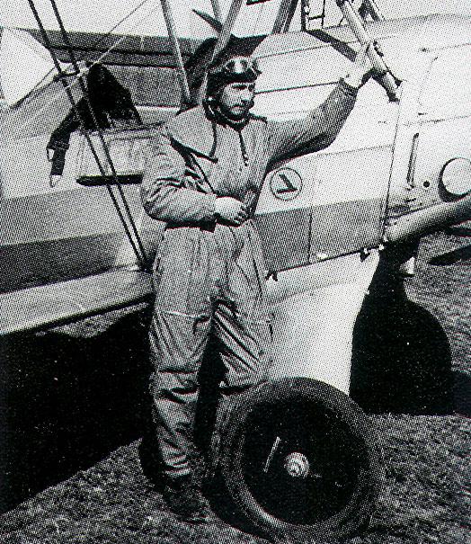 Aircrew Luftwaffe pilot Wilhelm Johnen 1932 01