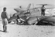 Asisbiz Messerschmitt Bf 110E Zerstorer ZG26 crash site North Africa 01