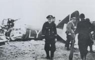 Asisbiz Bristol Blenheim IV RAF 1PRU LYx sd by a Me 109 at Breskens 14th Apr 1941 NIOD
