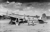 Asisbiz Bristol Blenheim V RAF 34Sqn N BA576 at an airstrip in north eastern India IWM CI295