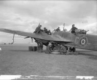 Asisbiz Bristol Blenheim VD RAF 13Sqn C dispersal area at Canrobert Algeria IWM CNA108