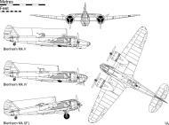 Asisbiz Bristol Blenheim blueprint of the various versions 0A