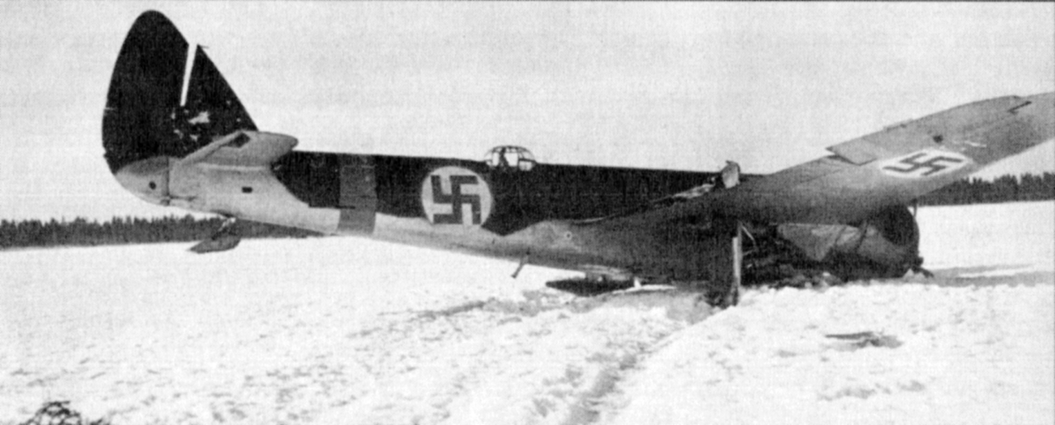 FAF LeLv42 BL115 had a malfunctioned ski which caused the crash at Vartsila Feb 1943 02