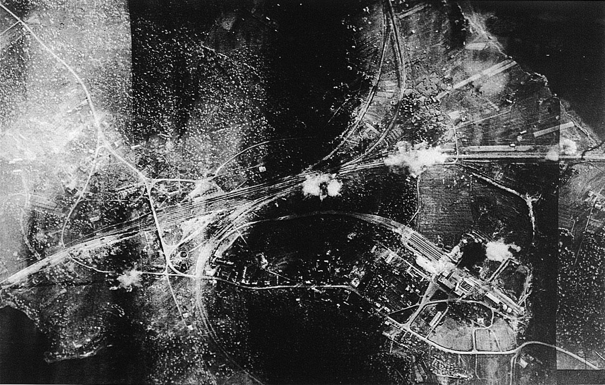 Target July 11th 1941 Antrea Railway Station 01