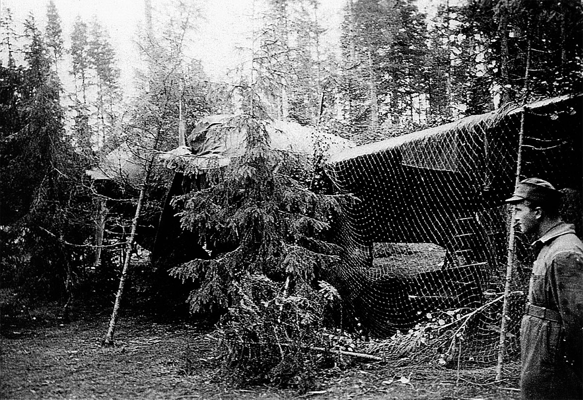 The Finnish AF became masters at camouflaging their aircraft as can be seen here 01