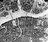 Asisbiz Aerial photo of downtown Leningrad from 7000m bottom left is Hermitage Museum 9th Feb 1943