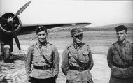Asisbiz Aircrew FAF LeLv42 from L Oiva Hyttinen Armas Eskola and Kai Havola Luonetjarvi July 1941