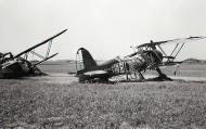 Asisbiz Fiat CR 42 Falco BAF IIFG3FS White 3 destroyed by strafing Belgium 1940 02