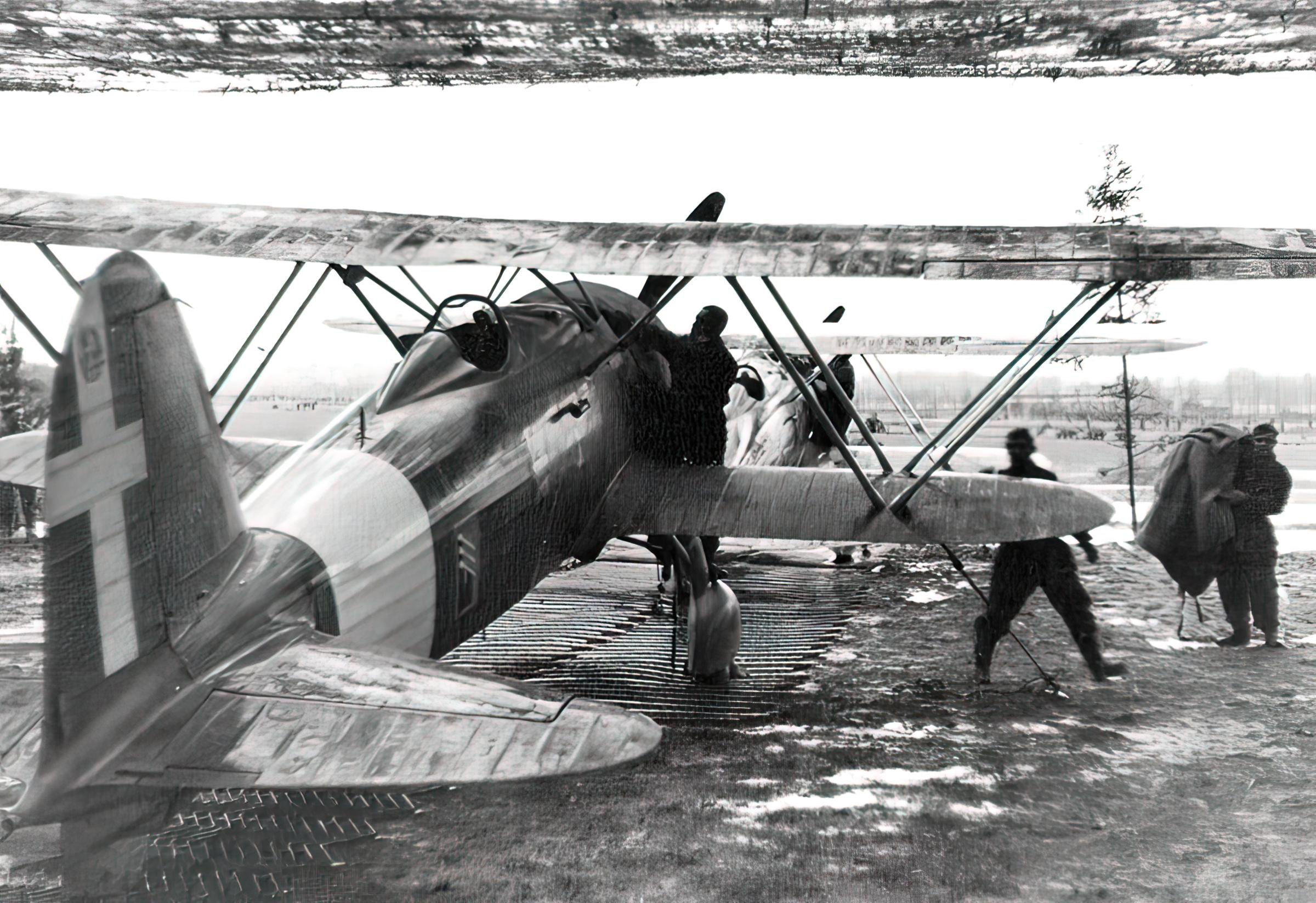 Fiat CR 42 Falco 18.JG56 18 Gruppo Ursel Belgium 1940 01