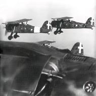 Asisbiz Fiat CR 42 Falco 18.JG56 18G56S85aSA 95 3 escort Fiat BR 20M to England 1940 01