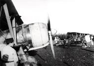 Asisbiz Fiat CR 42 Falco 18.JG56 18G56S85aSA engine warm up Ursel Belgium 1940 01