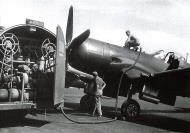 Asisbiz Vought F4U 7 Corsair French Navy Flottille 14F being refueled at Telergma Airport Algeria 1959 01