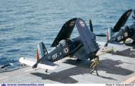 Asisbiz Vought F4U 7 Corsair French Navy Flottille 15F6 and 15F16 French carrier La Fayette 1957 01