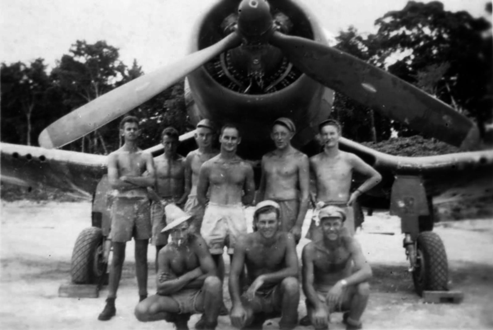 RNZAF-5Sq-Maintenance-Unit-Bougainville-