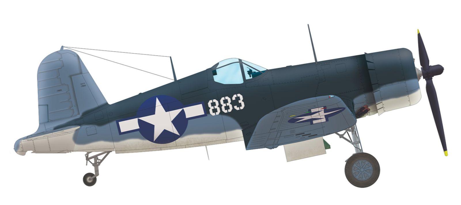 Vought-F4U-1A-Corsair-VMF-214-Gregory-Bo