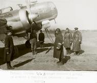 Asisbiz Ilyushin DB 3T 1GvMTAP with Maj Drozdov recieves a report 1942 01