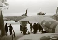 Asisbiz Dornier Do 17Z LeLv46 DN64 pre flight at Tiiksjarven Finland 12th Jan 1942 117974