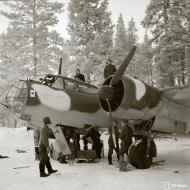 Asisbiz Dornier Do 17Z Lentolaivue 46 DN64 Tiksozero Finland 12th Jan 1943 117956