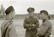 Asisbiz Aircrew FAF LeLv44 Capt L Pekuri Major Larjo n Major Luukkanen at Immolan 15th Jun 1944 153301