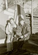 Asisbiz Aircrew FAF pilots Captain Karhunen and Captain Kokko at Rompotti Finland 1st Oct 1942 111714