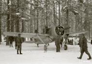 Asisbiz Brewster Buffalo MkI FAF 2.LeLv24 BW352 Tiiks Airbase 14th Feb 1942 09