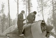 Asisbiz Brewster Buffalo MkI FAF 2.LeLv24 BW352 Tiiks Airbase 14th Feb 1942 12