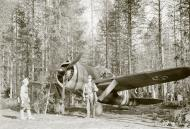 Asisbiz Brewster Buffalo MkI FAF 2.LeLv24 BW352 at Selanpaa Airport Finland 24th Jun 1941 20749
