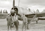 Asisbiz Brewster Buffalo MkI FAF 2.Lelv24 BW393 Hans Wind with 33 kills at Lake Suulajarvi 19th Sep 1943 09