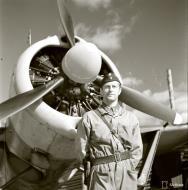 Asisbiz Brewster Buffalo MkI FAF LeLv24 Capt Jorma Karhunen at Rompotti 10th Sep 1942 107353