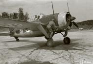 Asisbiz Brewster Buffalo MkI FAF LeLv44 BW357 at Immolan 15th Jun 1944 01