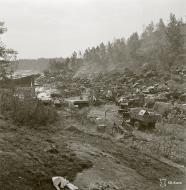 Asisbiz Captured Soviet supplies at Rautalahti on 21st Aug 1941 38216